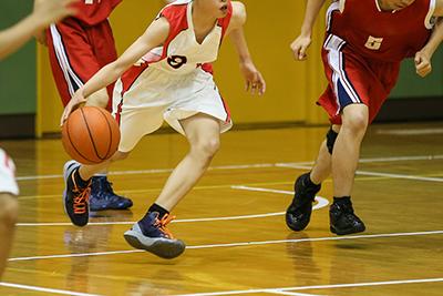 バスケなど激しいコンタクトスポーツでの打撲